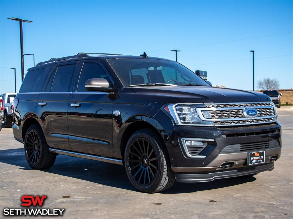 2020 Ford Expedition King Ranch 4X4 4 Door Automatic SUV EcoBoost 3.5L V6 GTDi DOHC 24V Twin Turbocharged Engine