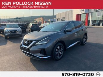 2019 Nissan Murano S 4 Door 3.5L 6-Cylinder Engine AWD Automatic (CVT)