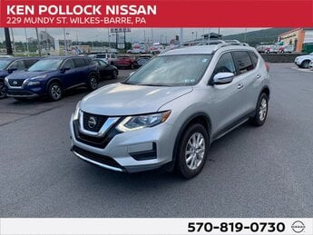 2020 Brilliant Silver Metallic Nissan Rogue SV AWD 2.5L I4 DOHC 16V Engine SUV Automatic (CVT) 4 Door