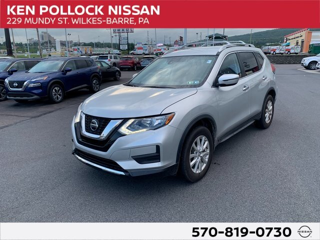 2020 Brilliant Silver Metallic Nissan Rogue SV AWD SUV Automatic (CVT) 2.5L I4 DOHC 16V Engine 4 Door