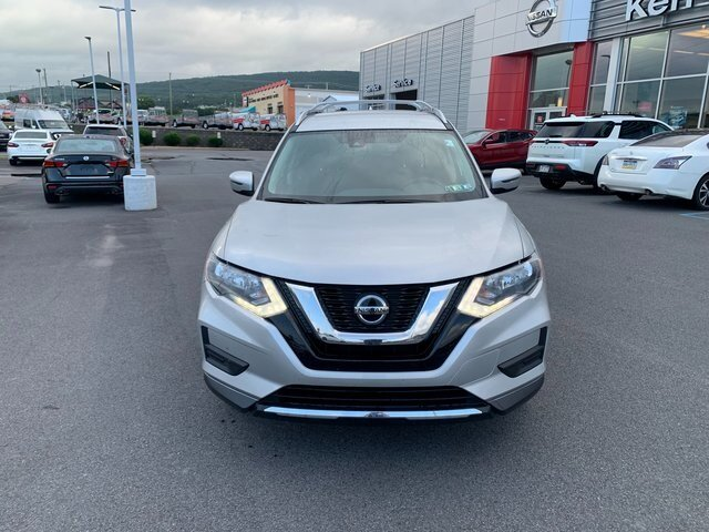 2020 Brilliant Silver Metallic Nissan Rogue SV AWD 4 Door Automatic (CVT)