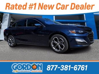 2020 Northsky Blue Metallic Chevrolet Malibu LT 4 Door Automatic (CVT) Sedan 1.5L DOHC Engine FWD