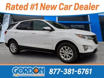 2020 Summit White Chevrolet Equinox LT Automatic 1.5L DOHC Engine SUV