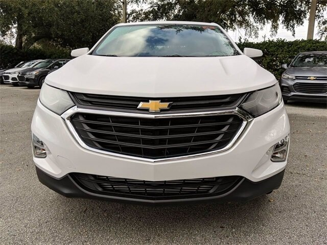 2020 Summit White Chevrolet Equinox LT SUV Automatic FWD