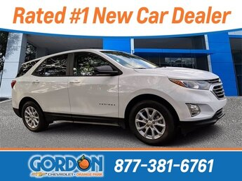 2020 Summit White Chevrolet Equinox LS Automatic FWD SUV 4 Door