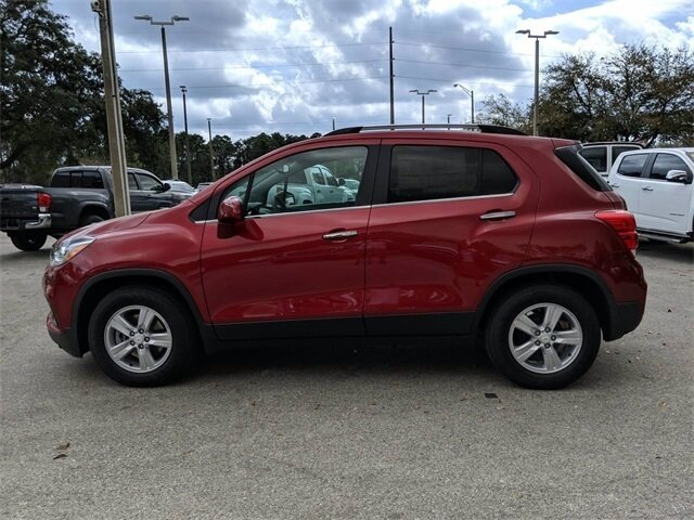 2020 Cajun Red Tintcoat Chevrolet Trax LT ECOTEC 1.4L I4 SMPI DOHC Turbocharged VVT Engine Automatic 4 Door FWD SUV