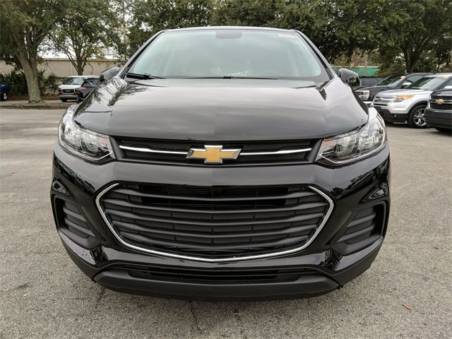 2020 Black Chevrolet Trax LS Automatic FWD ECOTEC 1.4L I4 SMPI DOHC Turbocharged VVT Engine
