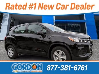 2020 Black Metallic Chevrolet Trax LS Automatic 4 Door ECOTEC 1.4L I4 SMPI DOHC Turbocharged VVT Engine FWD SUV