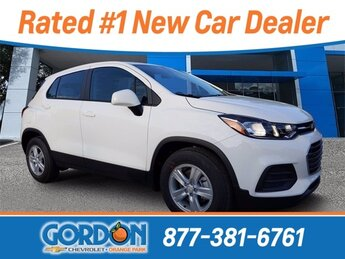 2020 Summit White Chevrolet Trax LS SUV FWD 4 Door ECOTEC 1.4L I4 SMPI DOHC Turbocharged VVT Engine Automatic