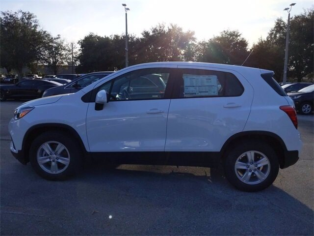 2020 Summit White Chevrolet Trax LS SUV ECOTEC 1.4L I4 SMPI DOHC Turbocharged VVT Engine Automatic FWD