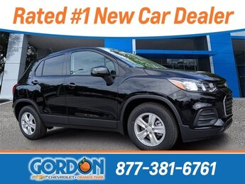 2020 Black Metallic Chevrolet Trax LS SUV Automatic 4 Door