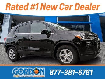 2020 Black Metallic Chevrolet Trax LT SUV 4 Door Automatic