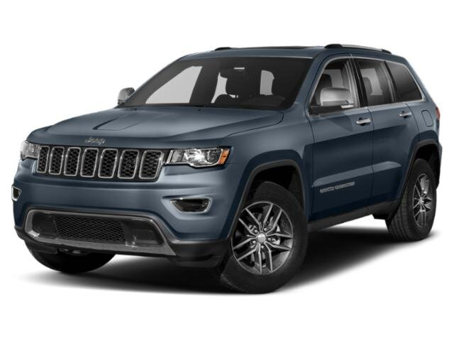 2019 Slate Blue Pearlcoat Jeep Grand Cherokee Limited 4 Door SUV Regular Unleaded V-6 3.6 L/220 Engine 4X4