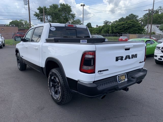 2019 Bright White Clearcoat Ram 1500 Rebel Automatic 4 Door 4X4 Regular Unleaded V-8 5.7 L/345 Engine Truck