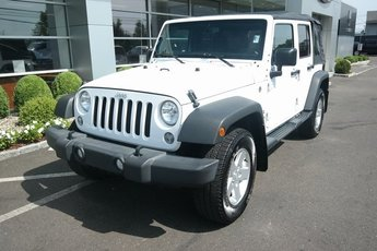 2016 Bright White Clearcoat Jeep Wrangler Sport SUV Automatic 4 Door