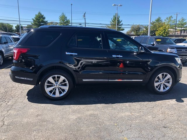 2019 Ford Explorer Limited SUV 3.5L 6-Cylinder SMPI Turbocharged DOHC Engine 4 Door Automatic 4X4