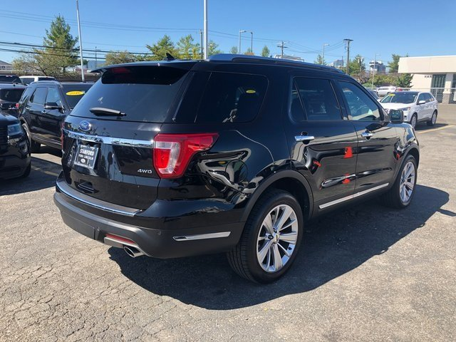 2019 Agate Black Metallic Ford Explorer Limited 4X4 SUV Automatic 4 Door