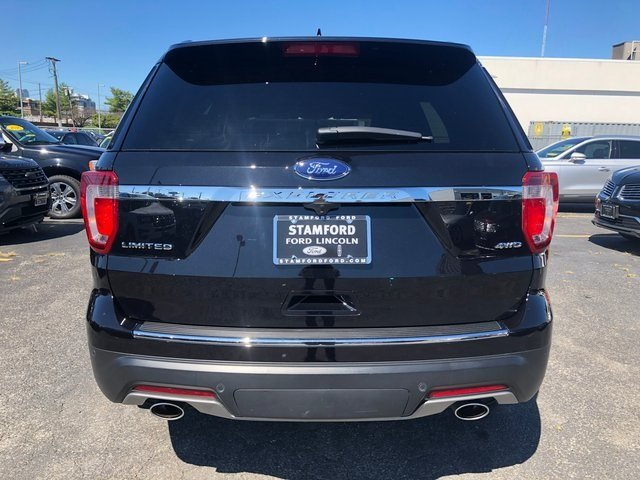 2019 Agate Black Metallic Ford Explorer Limited SUV 4X4 Automatic 3.5L 6-Cylinder SMPI Turbocharged DOHC Engine 4 Door