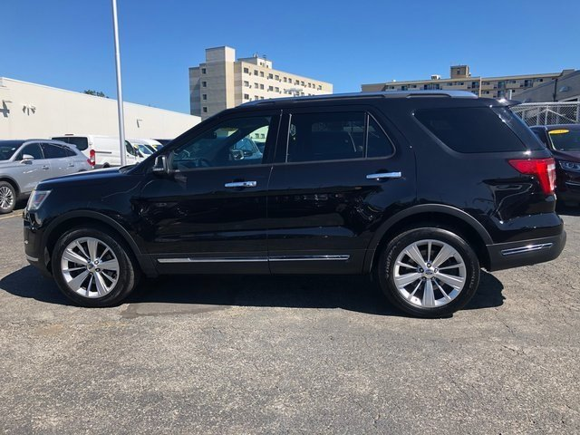2019 Agate Black Metallic Ford Explorer Limited Automatic 3.5L 6-Cylinder SMPI Turbocharged DOHC Engine SUV 4 Door