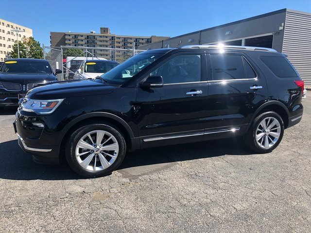 2019 Ford Explorer Limited SUV Automatic 4X4 3.5L 6-Cylinder SMPI Turbocharged DOHC Engine 4 Door