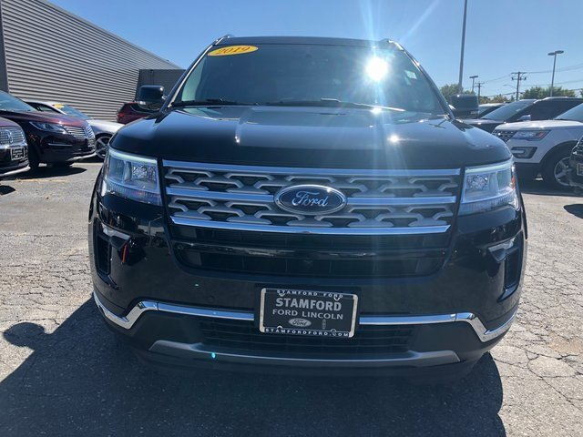 2019 Agate Black Metallic Ford Explorer Limited 4X4 SUV 3.5L 6-Cylinder SMPI Turbocharged DOHC Engine