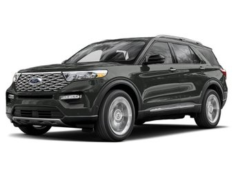 2020 Magnetic Metallic Ford Explorer Platinum 4 Door Automatic V6 Engine