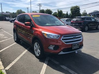 2019 Sedona Orange Metallic Ford Escape SE EcoBoost 1.5L I4 GTDi DOHC Turbocharged VCT Engine Automatic 4X4