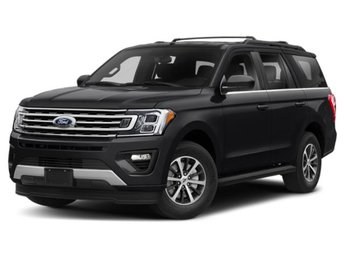 2019 Agate Black Metallic Ford Expedition XLT EcoBoost 3.5L V6 GTDi DOHC 24V Twin Turbocharged Engine 4 Door Automatic