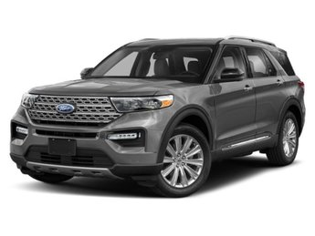 2020 Silver Spruce Metallic Ford Explorer XLT 4X4 Automatic SUV EcoBoost 2.3L I4 GTDi DOHC Turbocharged VCT Engine 4 Door