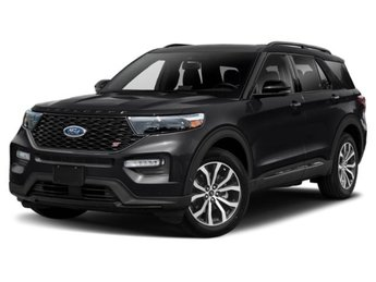 2020 Agate Black Metallic Ford Explorer XLT SUV 4X4 EcoBoost 2.3L I4 GTDi DOHC Turbocharged VCT Engine