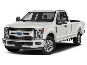 2019 Oxford White Ford Super Duty F-250 SRW XLT Automatic 4 Door 4X4 Truck