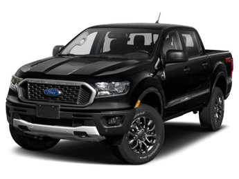 2019 Shadow Black Ford Ranger LARIAT 4X4 Automatic 4 Door