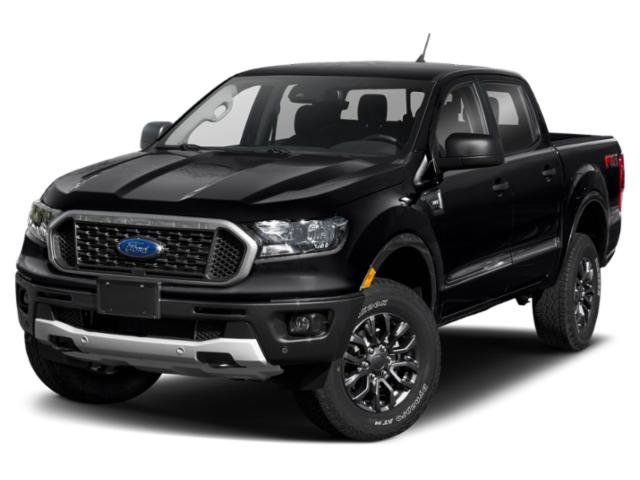 2019 Shadow Black Ford Ranger LARIAT Truck 4 Door EcoBoost 2.3L I4 GTDi DOHC Turbocharged VCT Engine Automatic