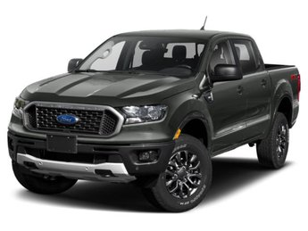 2019 Magnetic Metallic Ford Ranger XLT 4 Door Automatic Truck EcoBoost 2.3L I4 GTDi DOHC Turbocharged VCT Engine