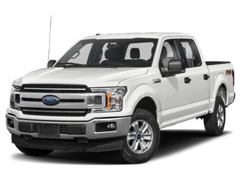 2019 Oxford White Ford F-150 XLT 4 Door Automatic EcoBoost 3.5L V6 GTDi DOHC 24V Twin Turbocharged Engine Truck 4X4