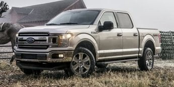 2019 Blue Ford F-150 XLT Truck EcoBoost 3.5L V6 GTDi DOHC 24V Twin Turbocharged Engine 4X4 4 Door