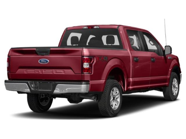 2019 Ruby Red Metallic Tinted Clearcoat Ford F-150 XLT 4X4 EcoBoost 3.5L V6 GTDi DOHC 24V Twin Turbocharged Engine 4 Door