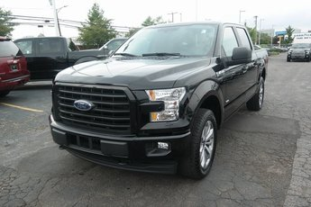 2017 Shadow Black Ford F-150 XL Automatic Truck 4X4 4 Door 2.7L V6 EcoBoost Engine