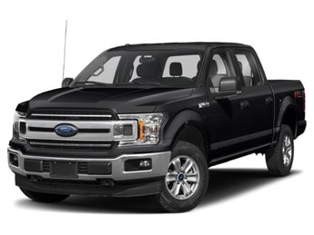 2019 Agate Black Metallic Ford F-150 XLT Automatic 4X4 EcoBoost 2.7L V6 GTDi DOHC 24V Twin Turbocharged Engine 4 Door Truck