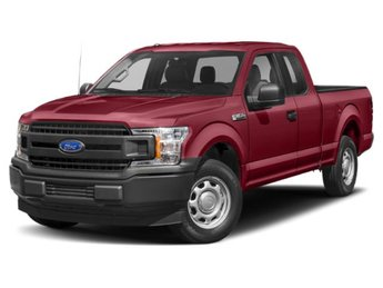 2019 Ruby Red Metallic Tinted Clearcoat Ford F-150 XLT 4 Door Automatic 3.3L V6 Ti-VCT 24V Engine Truck
