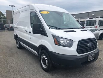 "2019 Oxford White Ford Transit-250 MR 130"" Automatic Van 3 Door"