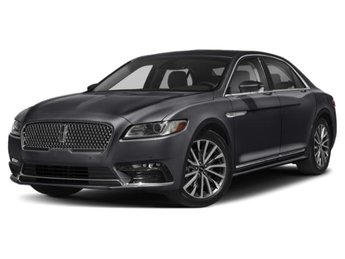 2019 Lincoln Continental Black Label AWD Automatic 4 Door V6 Engine Sedan
