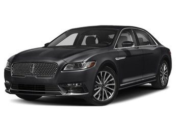 2019 Infinite Black Metallic Lincoln Continental Reserve 4 Door Sedan AWD Automatic