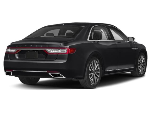 2019 Infinite Black Metallic Lincoln Continental Reserve Sedan Automatic V6 Engine