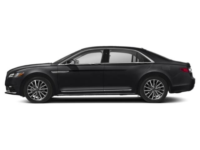 2019 Infinite Black Metallic Lincoln Continental Reserve AWD V6 Engine 4 Door Sedan