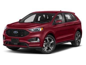 2019 Ruby Red Metallic Tinted Clearcoat Ford Edge ST AWD Automatic EcoBoost 2.7L V6 GTDi DOHC 24V Twin Turbocharged Engine 4 Door SUV