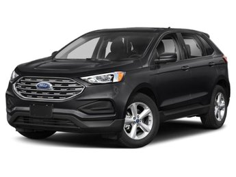 2019 Agate Black Metallic Ford Edge SEL Automatic 4 Door 2.0L Engine