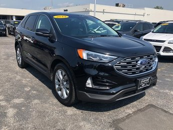 2019 Ford Edge Titanium AWD SUV EcoBoost 2.0L I4 GTDi DOHC Turbocharged VCT Engine
