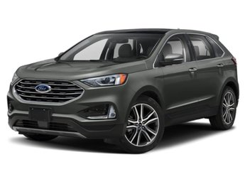 2019 Ford Edge Titanium 4 Door 2.0L Engine Automatic SUV AWD