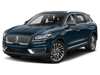 2019 Blue Diamond Metallic Lincoln Nautilus Select 4 Door Automatic 2.0L I4 Engine